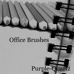 Office Brushes by Purple-Quartz-Brush