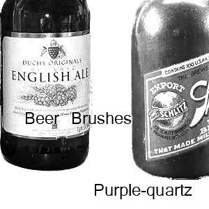Beer Brushes by Purple-Quartz-Brush