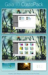 Gaia 10 CustoPack for Windows7 by David-PIERON
