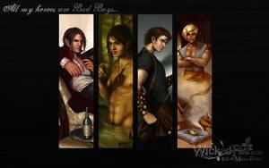 Bad Boys Wallpaper Pack by MelissaFindley