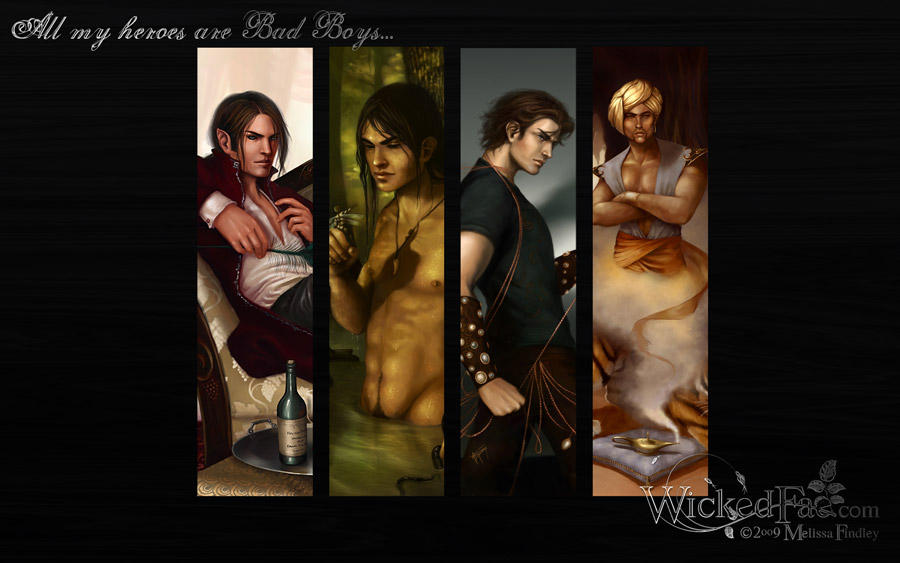 Bad Boys Wallpaper Pack by MelissaFindley
