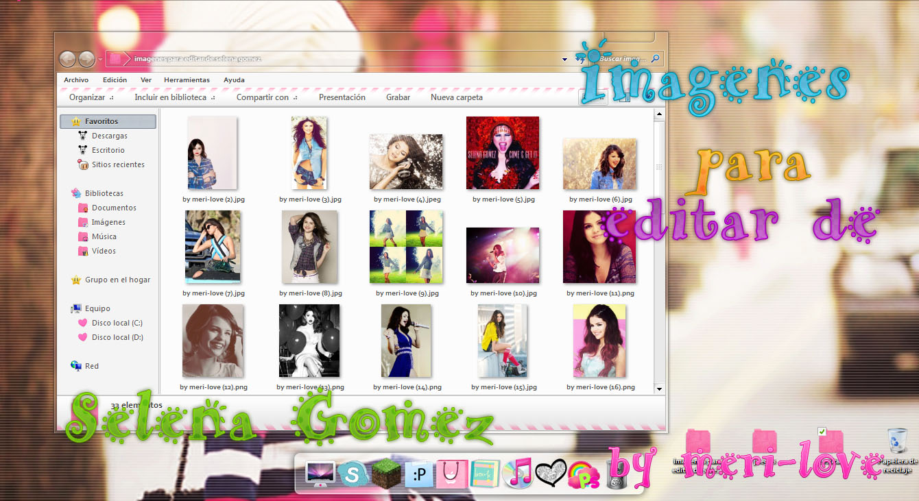Imagenes Para Editar De Selena Gomez by meri-love