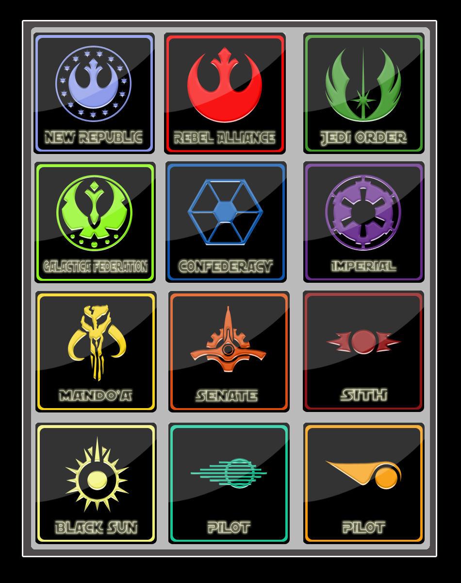 Star Wars Badges by SilverPixiGirl on DeviantArt