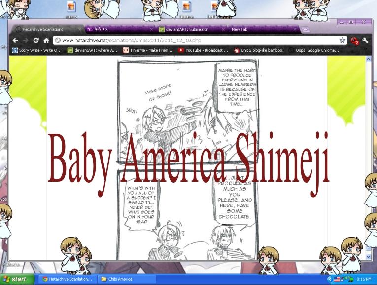 Baby America Shimeji