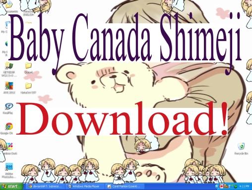 Baby Canada Shimeji