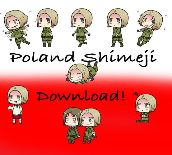 Poland Shimeji by HetaGarnet