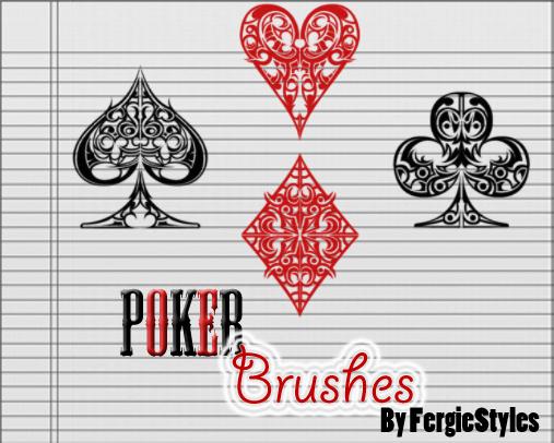Brush poker