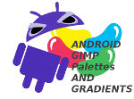 Android GImp Palettes and Gardients