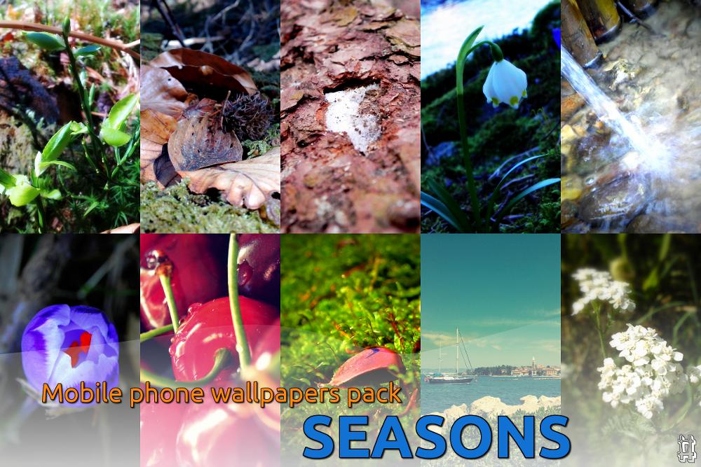 Seasons :: Mobile phone wallpapers pack by jodlajodla