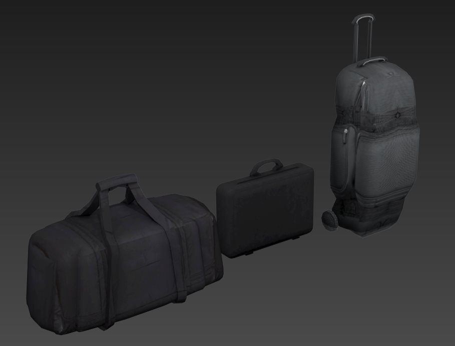 FREE 3D models  Suitcase, bag, suitcase on wheels by Casuss on