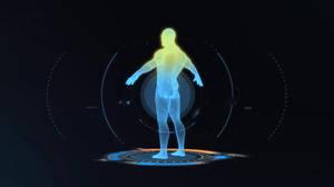 Man Scan Rainmeter Animation