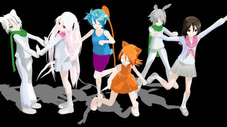 (OLD) MMD Draw with me and TSI couples
