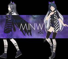{100+ Watchers Gift} NEWCOMER -MINW- +DL by JunMaeda