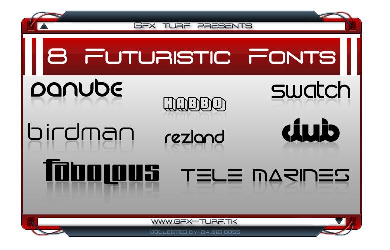 [Download]GT Presents: 8 Futuristic Font GT_Presents__8_Futuristic_Font_by_DaBigBoss93