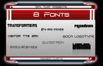 GT Presents: 8 Fonts