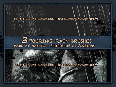 Pouring Rain Brush