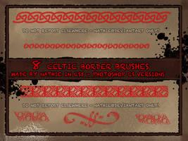 Celtic Border Brushes by nathies-stock
