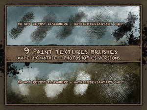Paint Structure Brushes