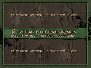 Tree Bark Brushes