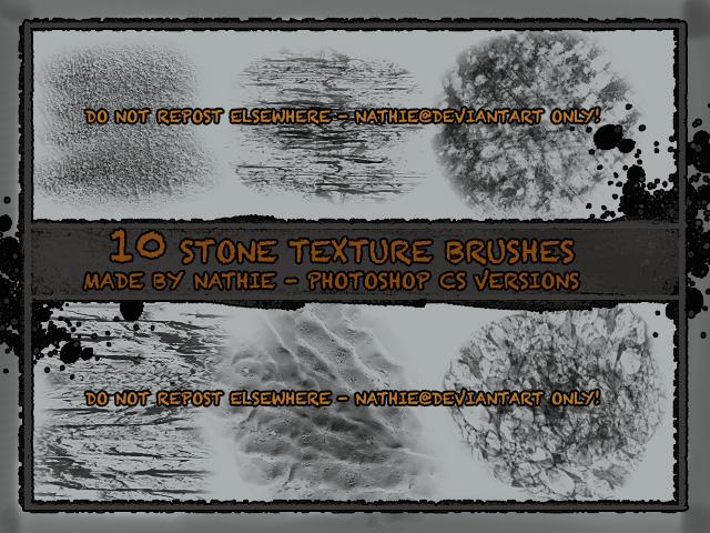 Stone Texture Brushes