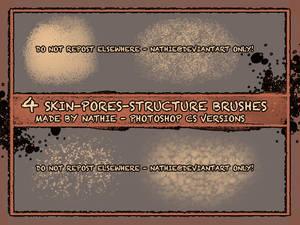 Skin Pores Brushes