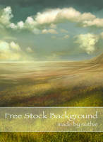 Golden Field Background by nathies-stock