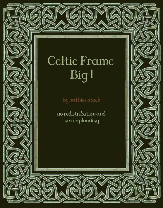 Celtic Frame Big by nathies-stock on DeviantArt