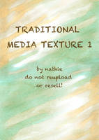 Traditional Media Texture I by nathies-stock