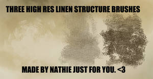 Linen Structure Brushes