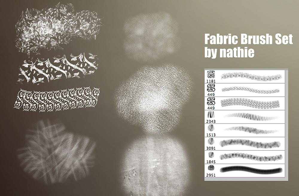Fabric / Brocade Brushset