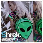 Shrek   PSD coloring