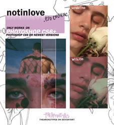 notinlove - PSD COLORING