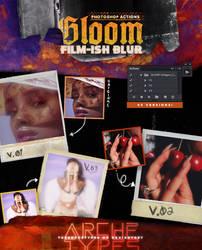 GLOOM // Vintage dreamy blur effect // ATN