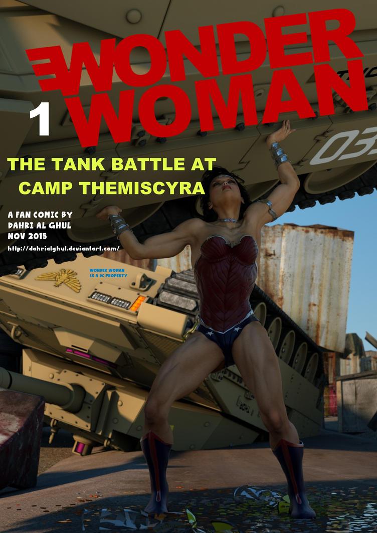Wonder Woman Fan Comic 1: pdf by DahriAlGhul