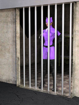 Catwoman escapes prison: .gif