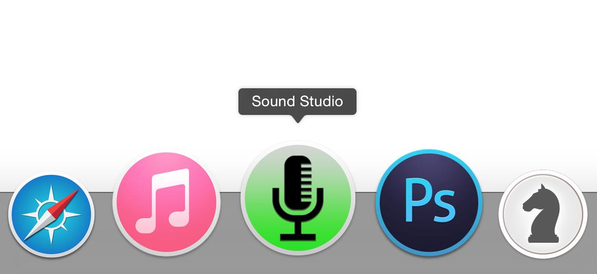 Sound Studio icns by club17