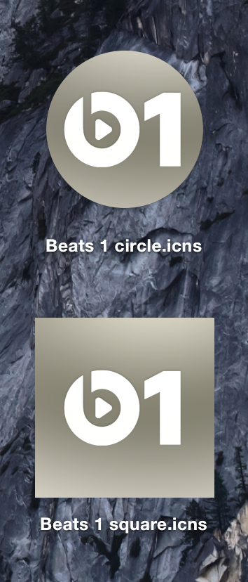 Beats 1 icons by club17