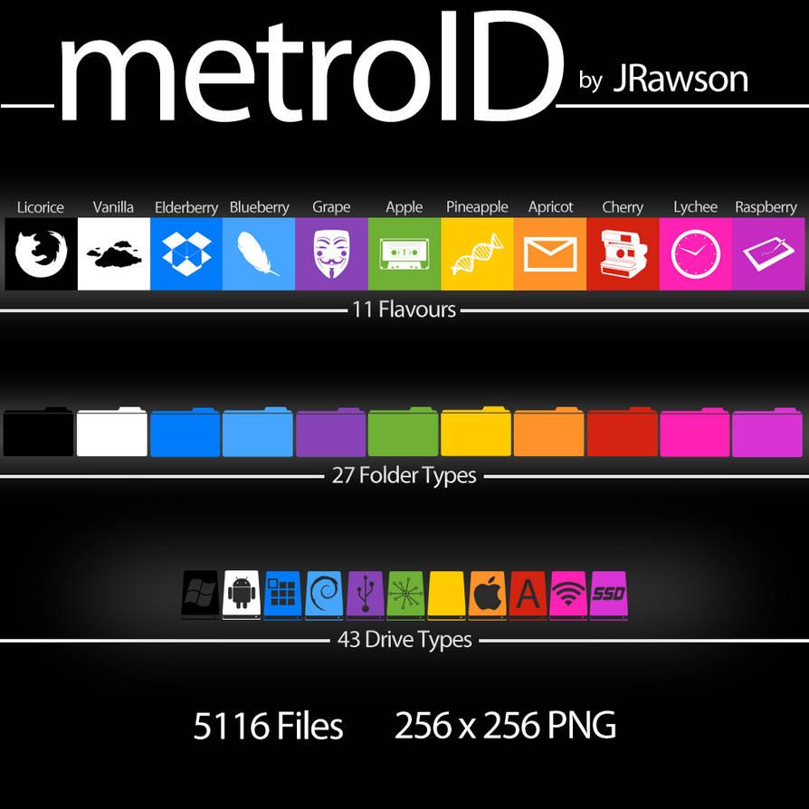 MetroID Icons by JRawson by JRawson