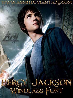 Percy Jackson Font by ASMH