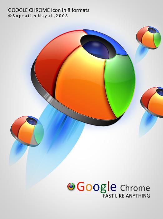 Google Chrome Icon by HYDRATTZ