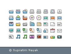 TRANQUILITI 16 pix Icons