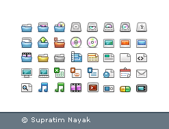 TRANQUILITI 16 pix Icons by HYDRATTZ