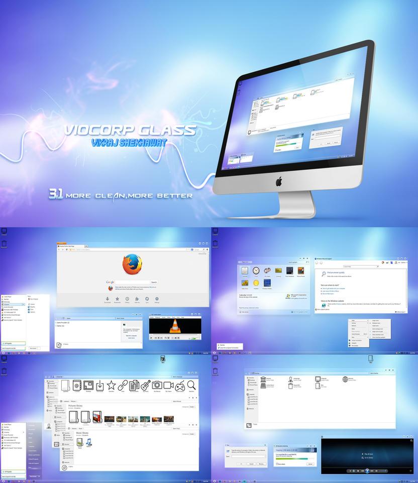 VioCorp Glass 3.1 by vikraj