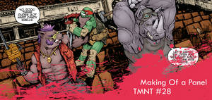 Making-of a panel_TMNT#28
