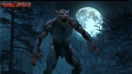 werewolf Animation by MaskDemon