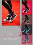 sneaker action set