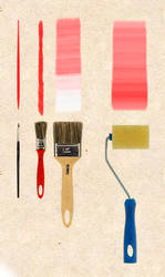 Brushes for walls by DaniloHage
