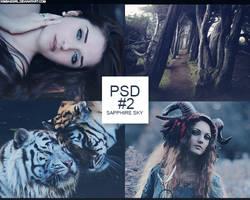 PSD#2 - Sapphire Sky
