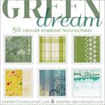 Textures Green Dream 100x100