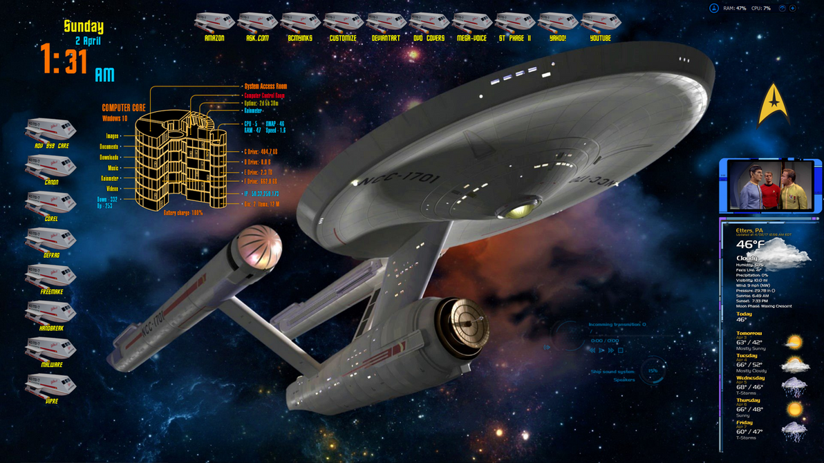 Star Trek Win 7 Version  1.1 by oldcrow10